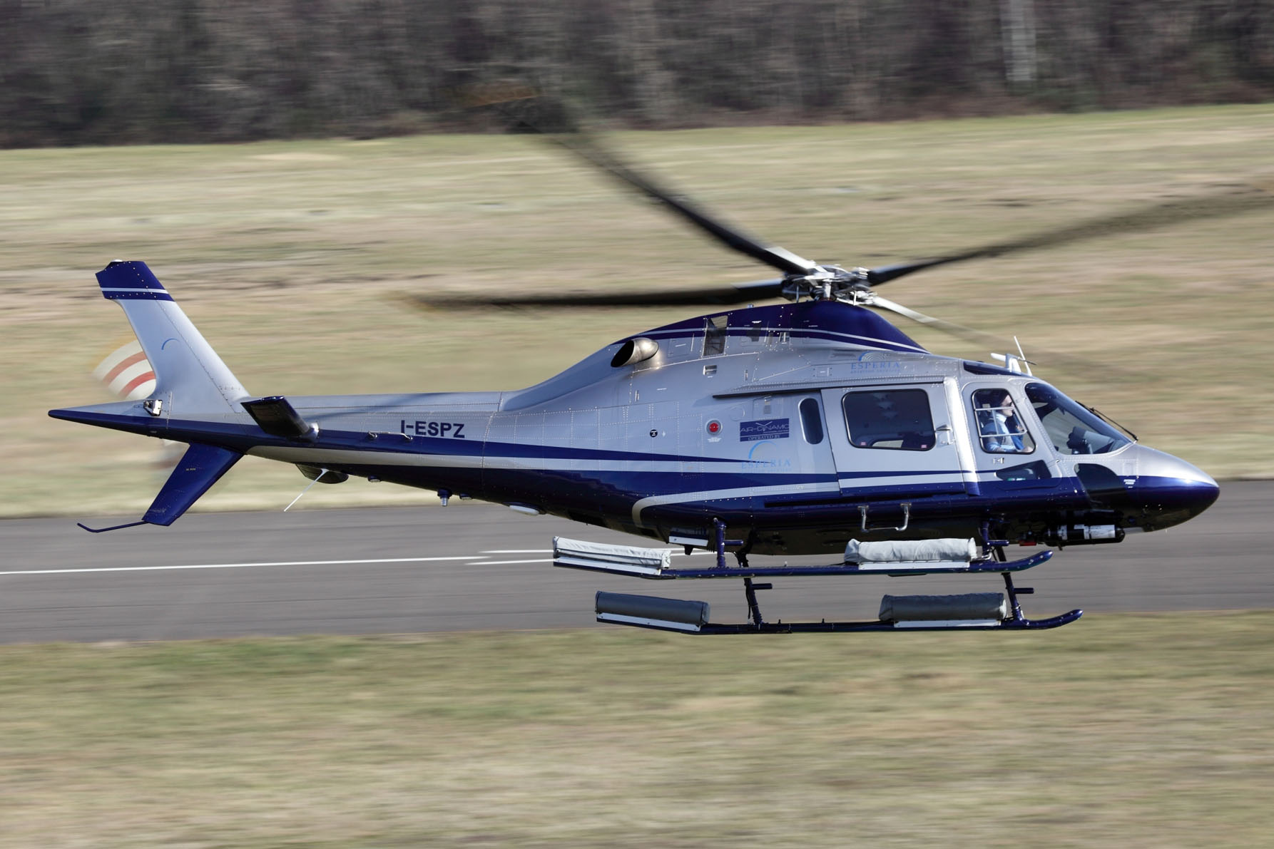 AW119Ke helicopter for CPI Group
