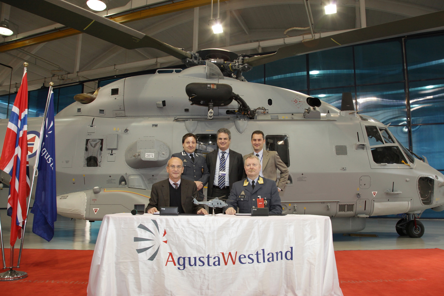 NH90 delivered to Norway