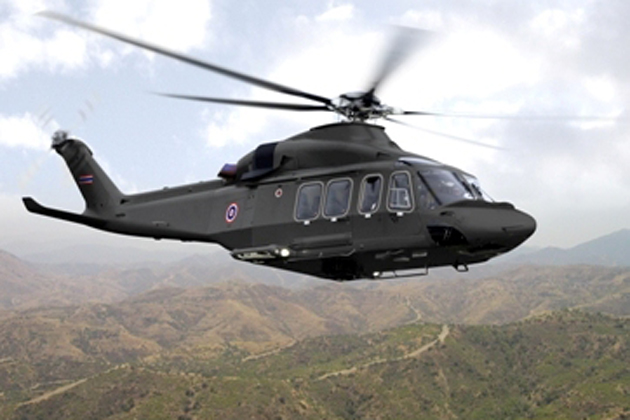 Royal Thai Army signs on for AW139