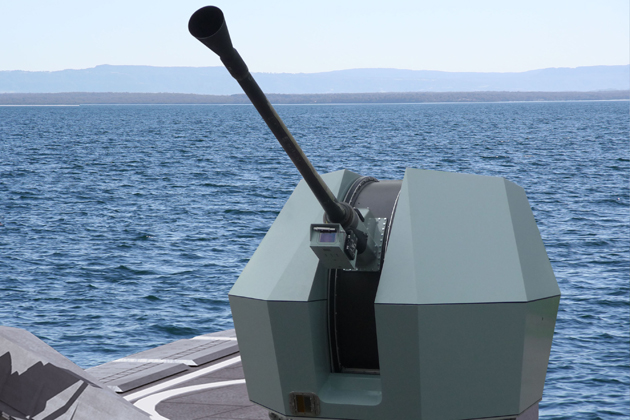 Euronaval 2012: BAE advances naval gun design