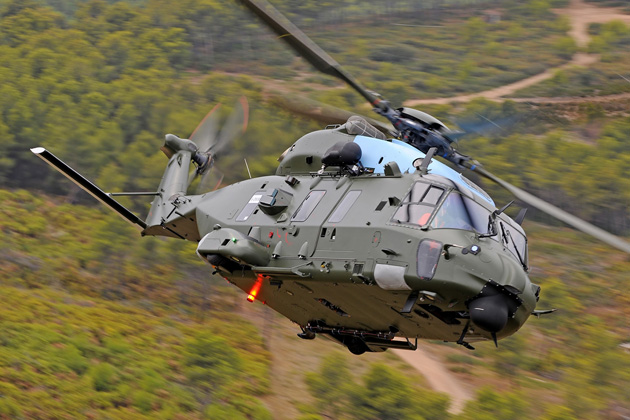 First Belgian NH90 takes to the air