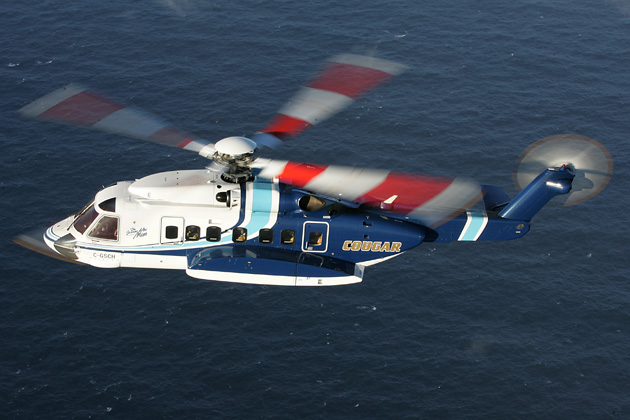 Bristow buying a share of Cougar Helicopters