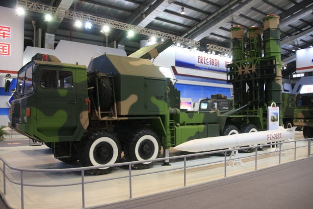 Airshow China: CASIC showcases air defence weapons