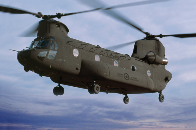 Boeing announces Canadian CH-47F suppliers
