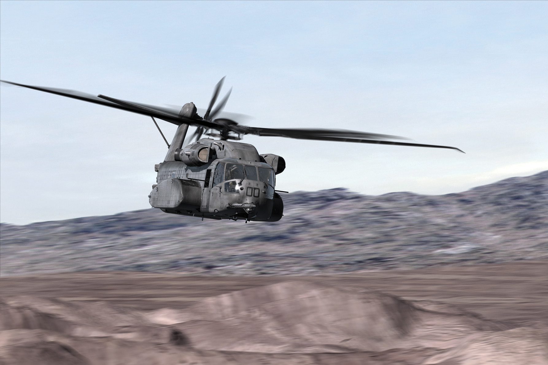 Kratos to build maintenance trainers for CH-53K