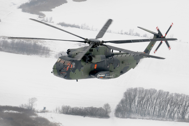 ILA 2012: Eurocopter hands over first CH-53GA to the German Army