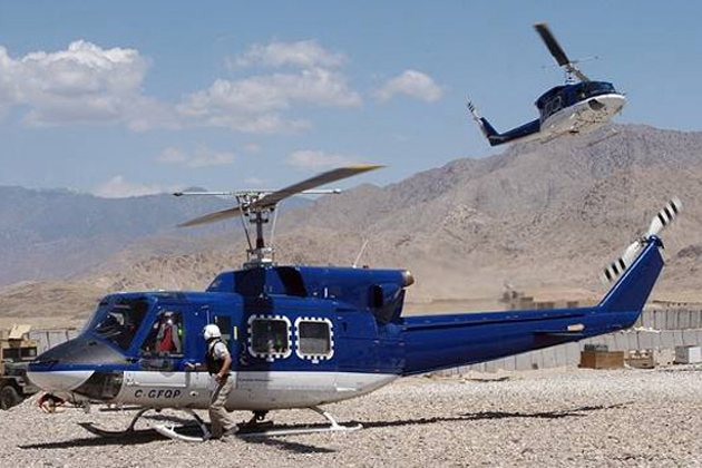 DoD increases contracted helicopter services in Afghanistan