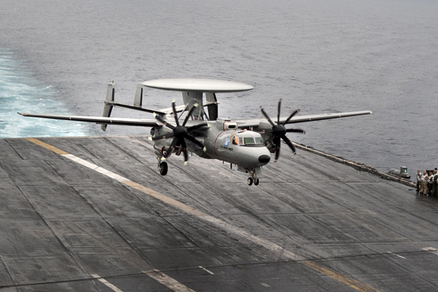 US Navy confident in E-2D progress