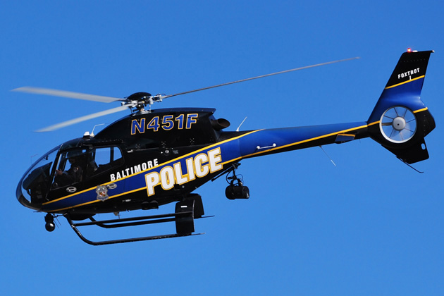 Baltimore Police Department orders four EC120s