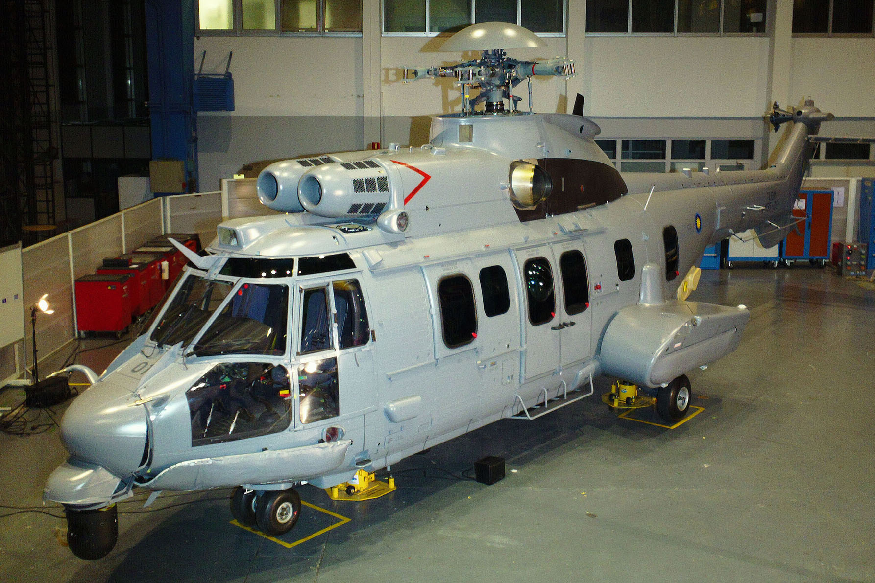 Eurocopter unveils Malaysian EC725