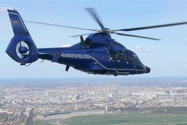 Twenty EC155 B1 helicopters delivered to German Federal Police