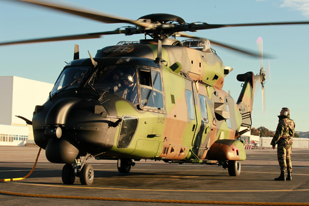 DGA begins qualification testing on NH90 maintenance training simulator