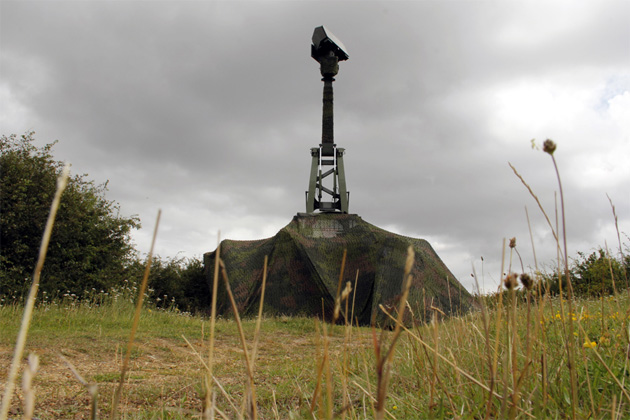 Swedish radar used to protect London skies during Olympics