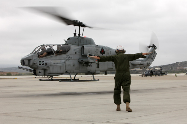 USMC squadron begins transition to the AH-1Z