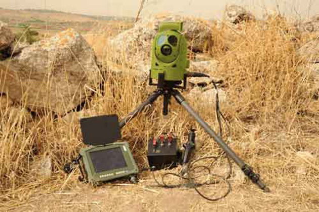 Eurosatory 2012: European customer orders IAI Tamam GTADS sensor package