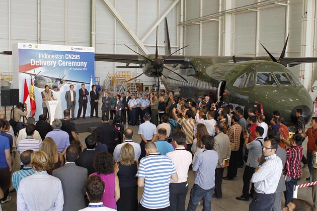 Indonesia takes delivery of new C295 aircraft