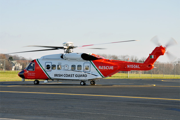 Sikorsky completes first S-92 for Irish Coast Guard
