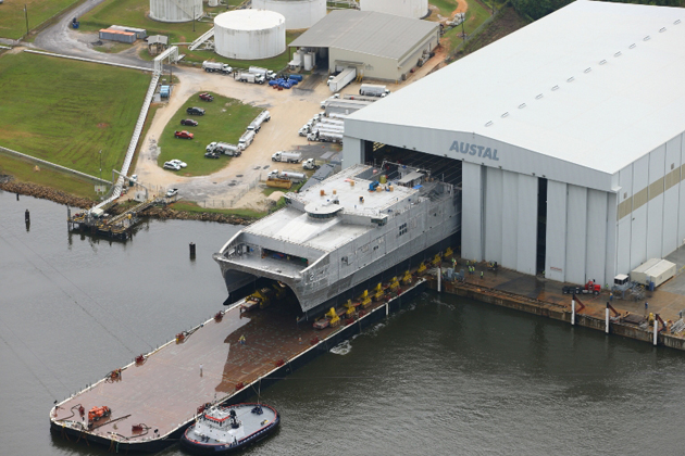 Second Joint High Speed Vessel launched