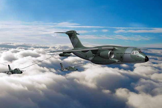 Rohde & Schwarz selected for KC-390 airborne transceivers