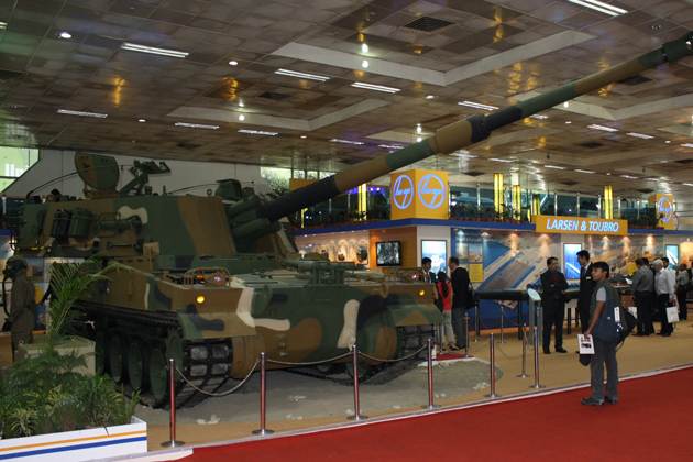 DefExpo 2012: L&T teams with Nexter and STW to offer 155mm artillery systems to Indian Army