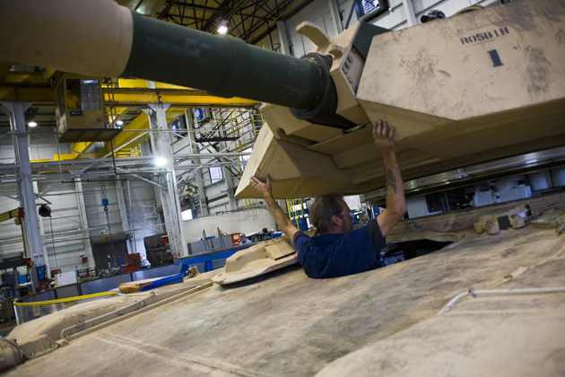General Dynamics wins Abrams upgrade award