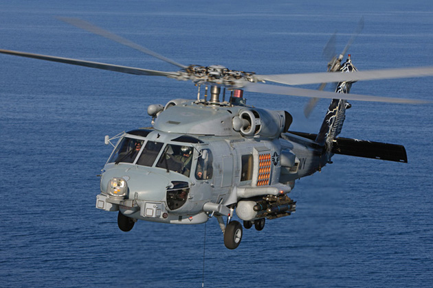 Danish government signs for MH-60R Seahawk helicopter