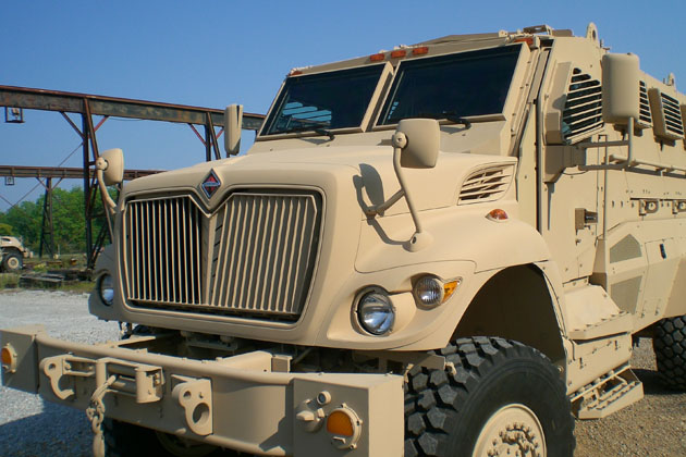 Navistar Defense wins MaxxPro award