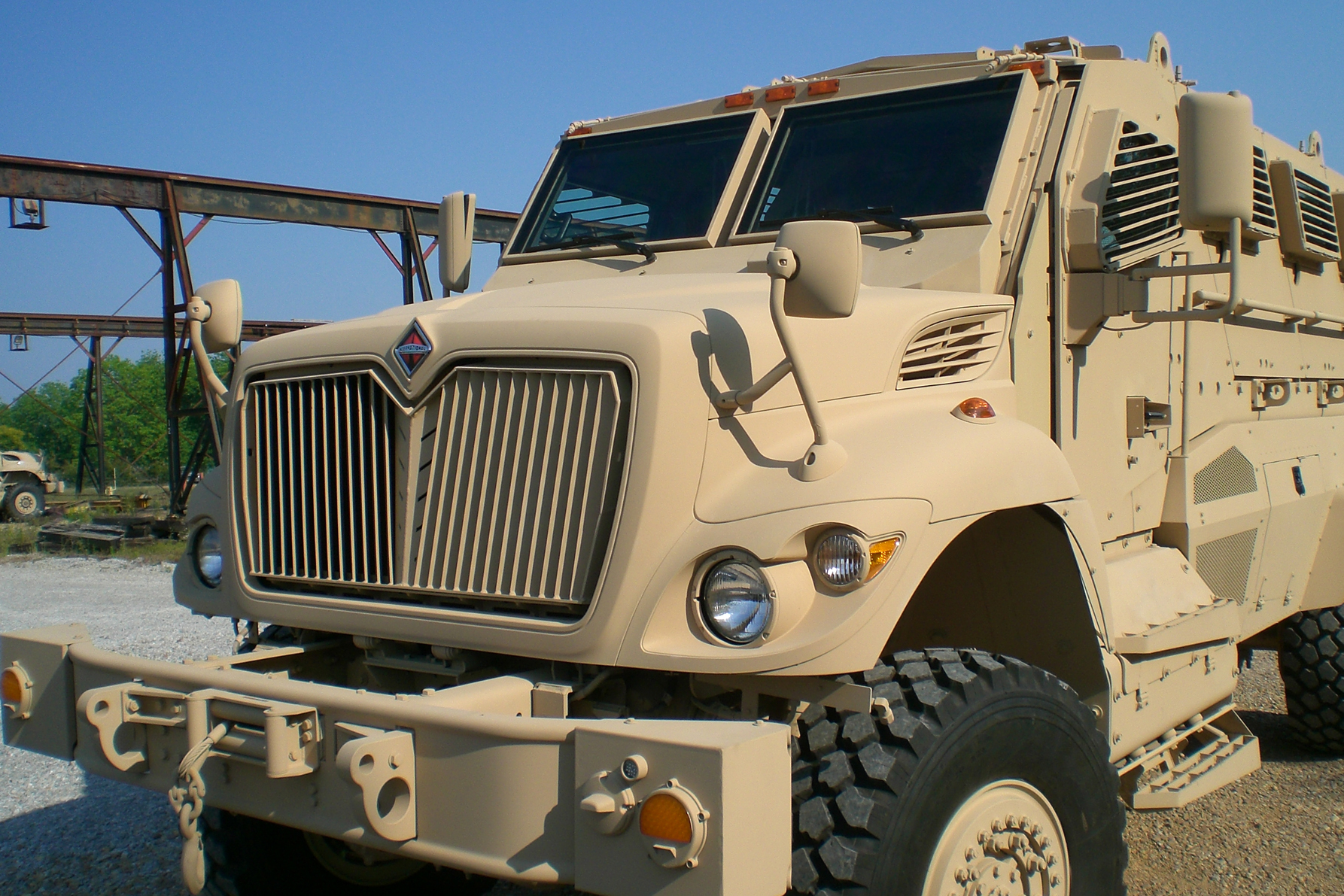 Navistar Defense wins MRAP upgrade contract