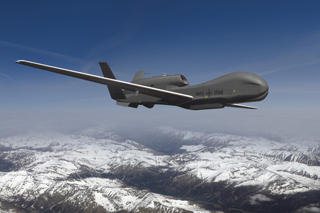 ILA 2012: NATO makes changes to configuration of AGS Global Hawks