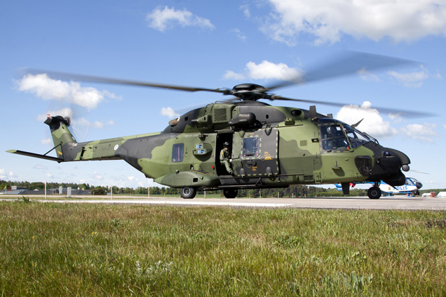 Aerospace Forum Sweden 2012: Finnish helicopter battalion moves towards international operation readiness