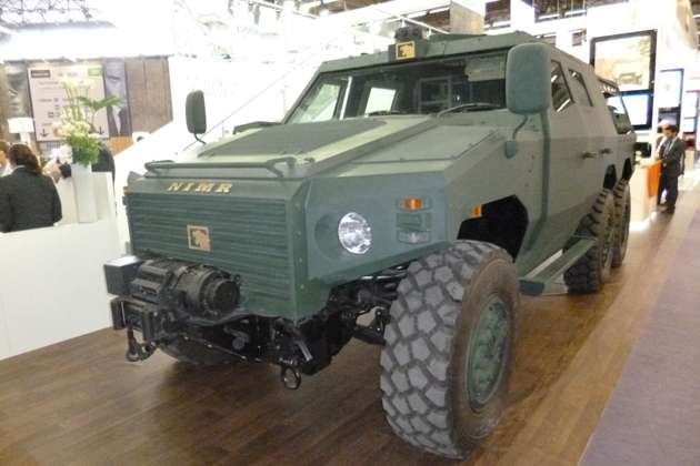 Eurosatory 2012: UAE buys additional Nimr vehicles