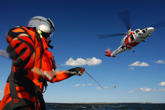 Swedish Maritime Administration takes over responsibility for SAR helicopters