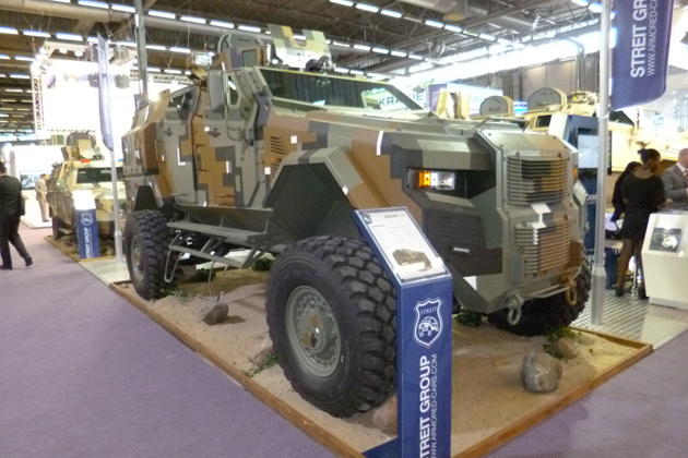 Eurosatory 2012: Streit eyeing opportunities for Jaguar APC