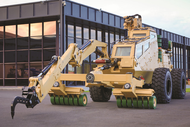 AUSA 2012: Pearson Engineering unveils 'route-clearing' concept