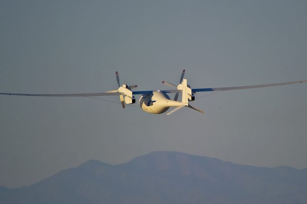 First autonomous flight for Phantom Eye