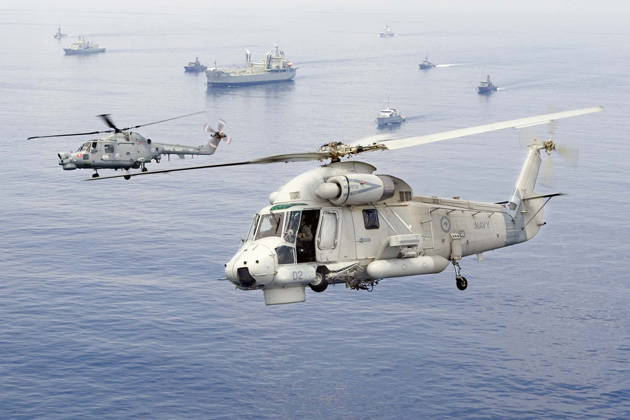 RNZN qualifies SH-2G(I) Super Seasprite helicopter on OPV HMNZS ...