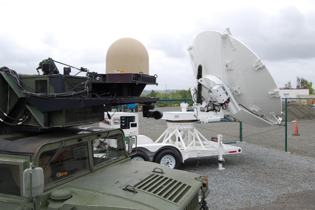 Boeing demonstrates SATCOM on the Move