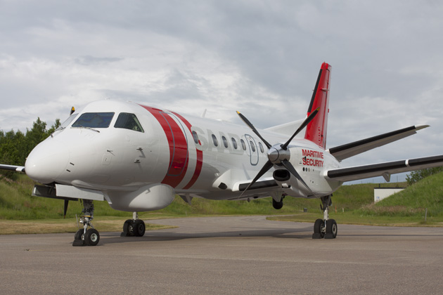 Aerospace Forum Sweden 2012: Saab unveils maritime security version of the Saab 340