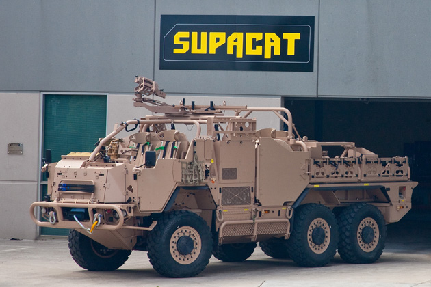 Supacat delivers REDFIN 1B prototype to ADF