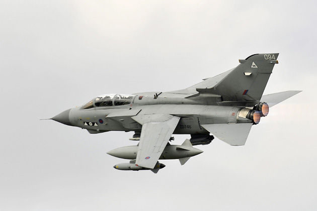Thales simulators support RAF Tornados