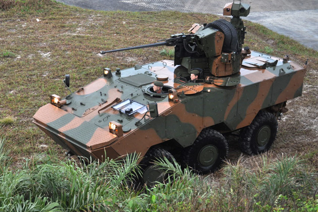 Eurosatory 2012: Brazil and Iveco to work up next-generation Guarani