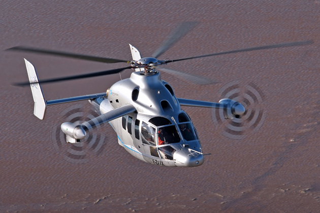 Eurocopter X3 arrives in the US