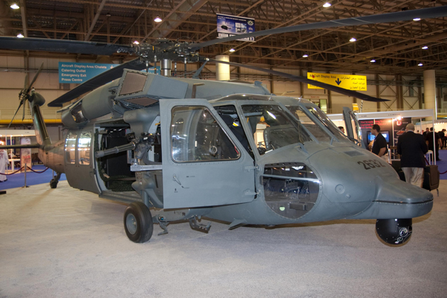 Dubai Helishow 2012: Black Hawk gains momentum in the Middle East