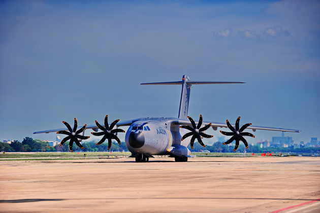 A400M completes F&R flight-test phase