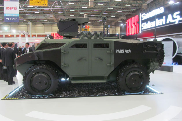Turkey selects Weapon Carrier