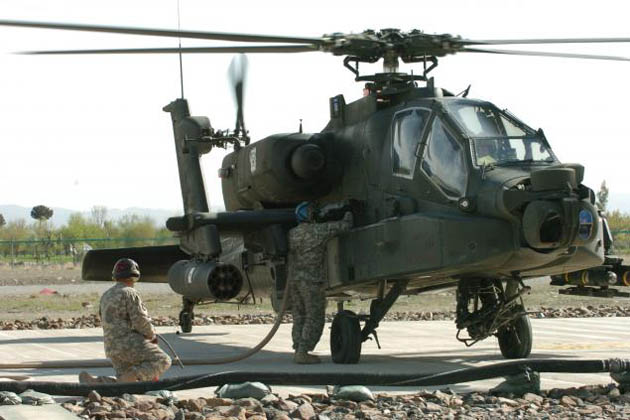 Cobham awarded US Army Apache OBIGGS contract