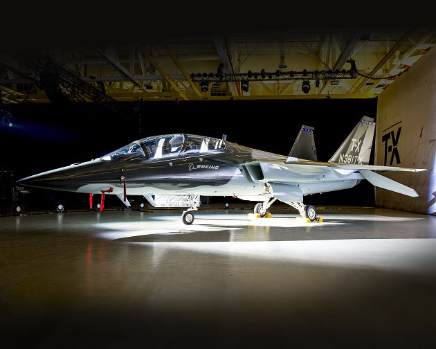 Boeing's T-X aircraft unveiled