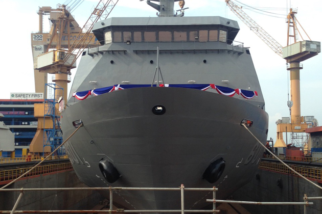 Philippine sealift vessel launched