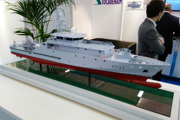 Euronaval 2016: French Guiana OPV undergoes sea trials