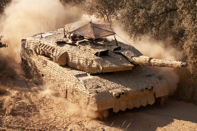 Eurosatory 2012: Saab promotes 'second skin' vehicle protection